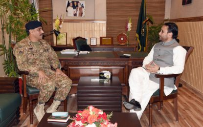 Commander Special Security Division meets CM Gilgit-Baltistan, Matters pertaining to security of transport on Karakorum Highway discussed