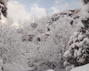 Eight Stunning Photographs of Snowfall at Lawari Top, Chitral