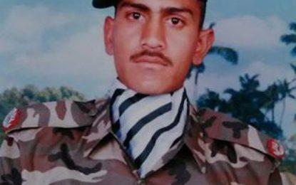Shaheed NLI Jawan Irshad Hussain Buried in Newranga Skardu with Military Honors