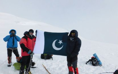 First Pakistan Winter Glacier Conservancy Awareness Expedition 2017