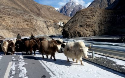 Winter in Gojal Valley, Hunza