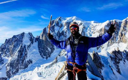 After years of guiding tourists in Pakistan, I did a climb of my own — at the Alps