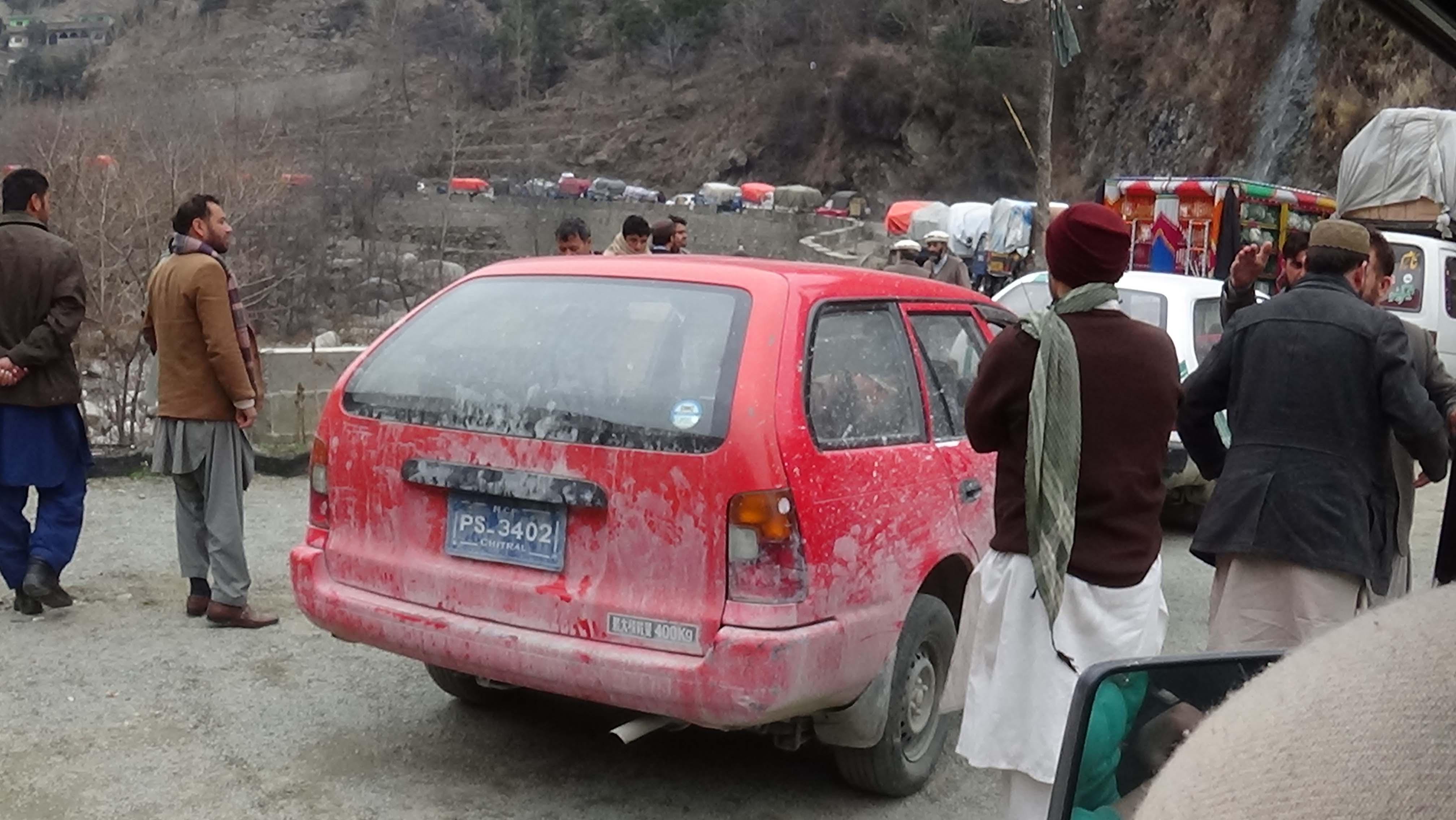 Kalasha woman killed, three men injured in road mishap