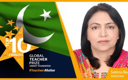 Salima Begum from Gilgit-Baltistan among top 10 finalists for Global Teacher Award