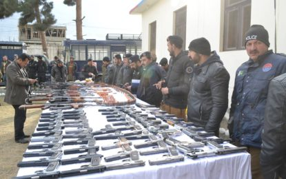 Gilgit Police Recovered Huge Cache of Arms & Ammunition from Car