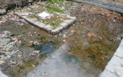 Water seepage damages British Political Agent's grave in Gilgit