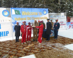 Army win Ski Championships held at Naltar