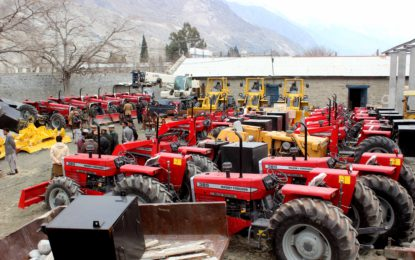 GBDMA gets machines worth 680 mn rupees