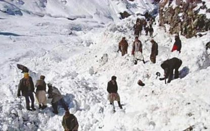 Chitral: Volunteer dies while working to clear blocked road in Sheshi Koh Village