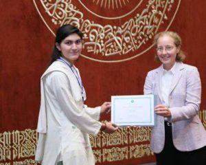 100/100: Sajida Bibi from Ghizer gets full marks in mathematics