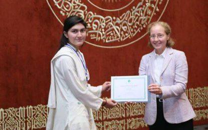 100/100: Sajida Bibi from Ghizer gets full marks in mathematics