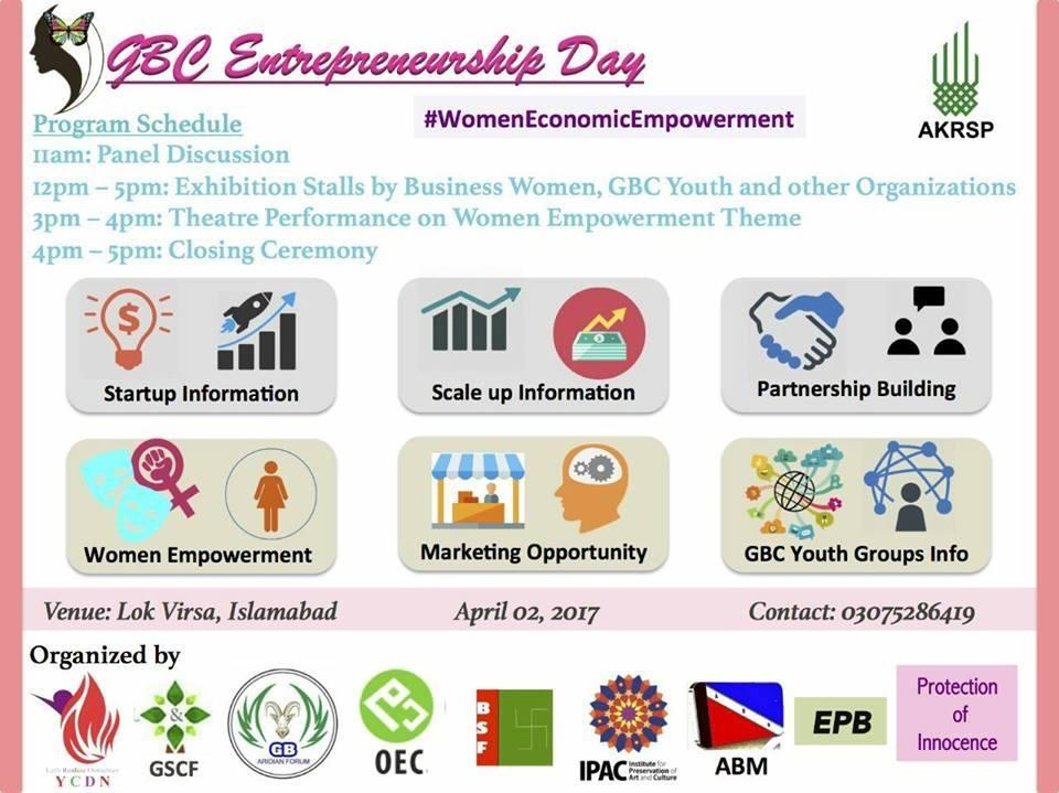 AKRSP organizing GBC Entrepreneurship Day in Islamabad