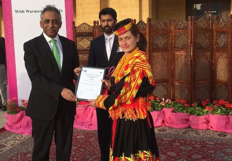 Activist from Kalash Valley wins award for inspiring and empowering women