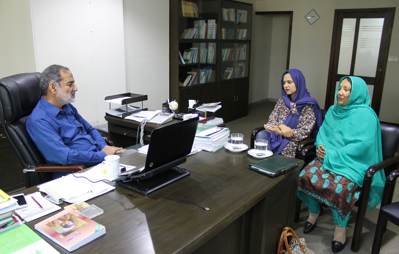 MLA Shereen Akhtar meets Institute of Policy Studies officials to discuss knowledge sharing