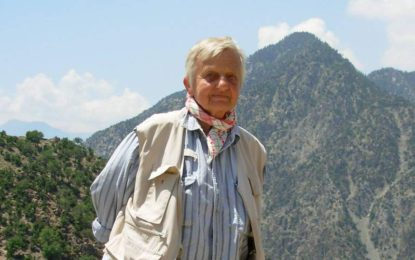 London born writer and social worker Maureen Lines laid to rest in Peshawar
