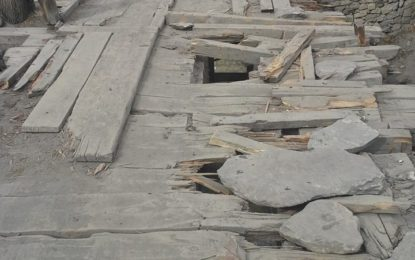 Irked by govt apathy, youth in Yasin Valley launch donation drive to repair broken bridge