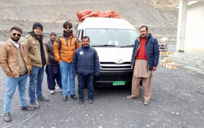 Pak-China border opens for traffic
