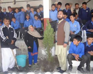 MLA Shereen Akhtar extends Green Pakistan Project to Ghanche