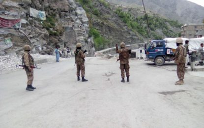 Pictorial – Chitral Town wears deserted look as section 144 is imposed to maintain law and order