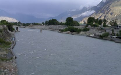 River Gilgit to be 'deepened' and protective walls to be built on both banks