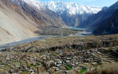 16 amazing photographs of spring blossom in Gojal Valley