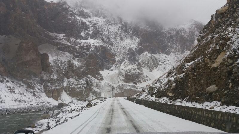 Five people injured as rain and snowfall cause landslides in Gilgit-Baltistan