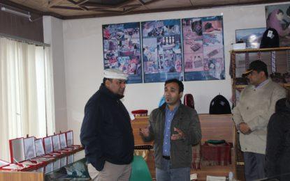 DG Special Communication Organisation visits KADO