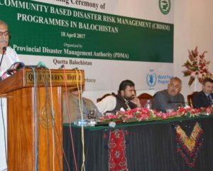 Disaster Risk Management and School Safety projects launched in Naseerabad and Jaffarabad