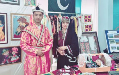 Artists from GB represent Pakistan at cultural exhibition held in Muscat