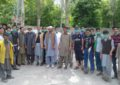 Locals in Haji Gam village Skardu celebrate cleanliness day