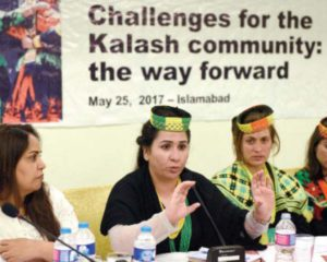 Rights activists highlight threats to existence of Kalash tribe