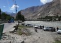 Gilgit River turned into auto wash station