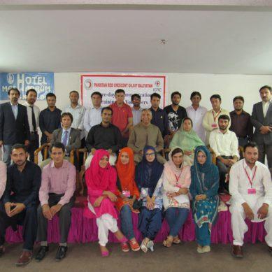 PRC Gilgit-Baltistan trains volunteers in communication