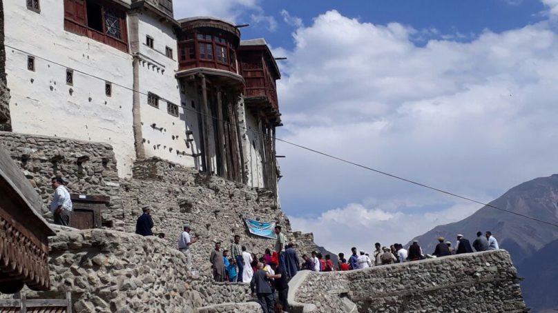 Ginani Festival celebrated in 700 years old Baltit Fort, Hunza