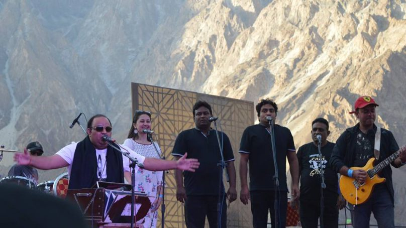 Thousands attend FACE Musice Mela in Passu, Gojal Valley