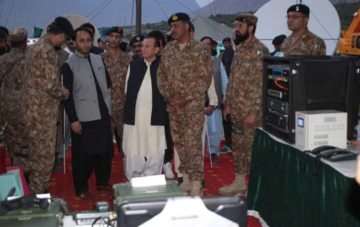 """""""A Day with Army"""", weapon exhibition held in Gilgit on Defence Day"""