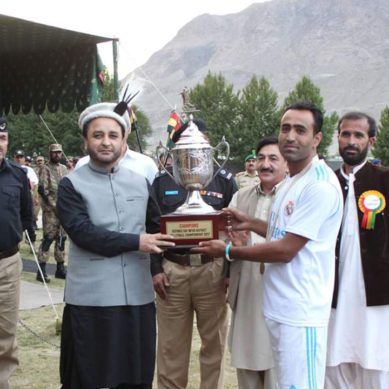 Hunza beat Gilgit in the Defence Day Inter District Volleyball Championship