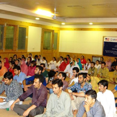 500 people sensitized on child rights in 3 districts of Gilgit-Baltistan