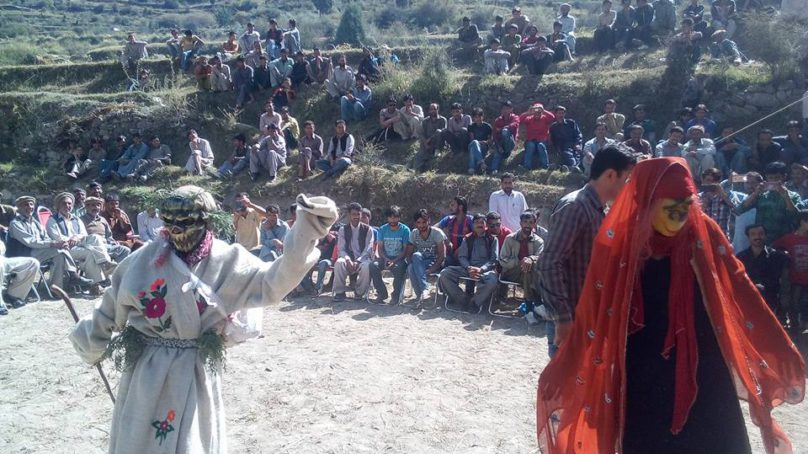 Traditional Shaman Festival celebrated in Bagrot Valley of Gilgit