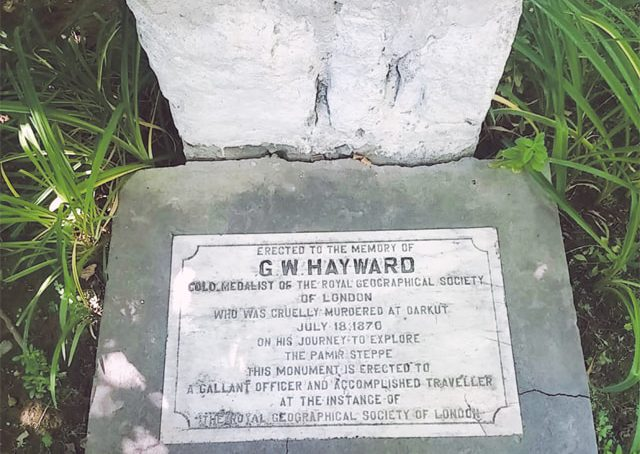 Gilgit's British cemetery: a local monument to the Great Game