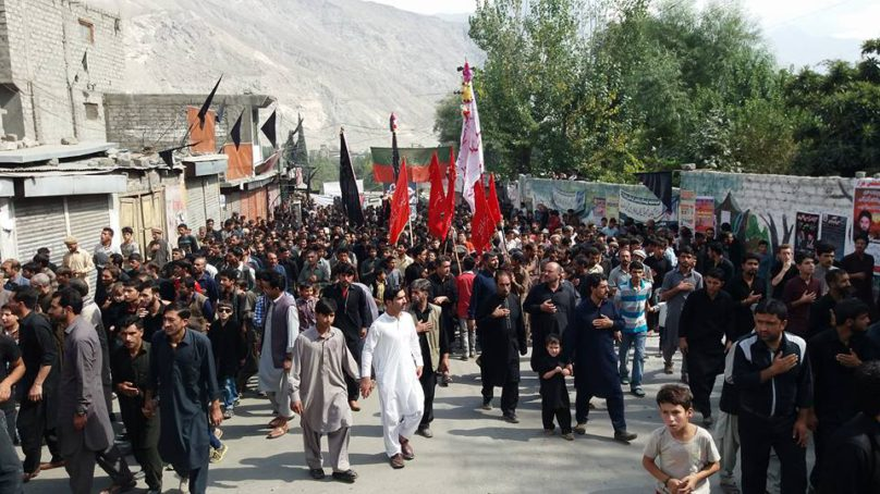 Amid tight security, Muharram processions continue peacefully in Gilgit