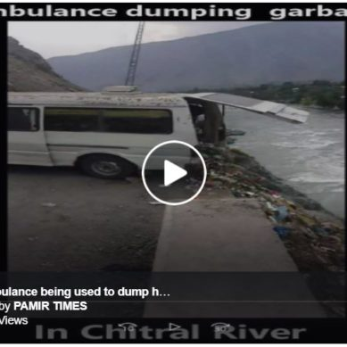 Three officials of Chitral Health Dept suspended for dumping infected hospital waste in river