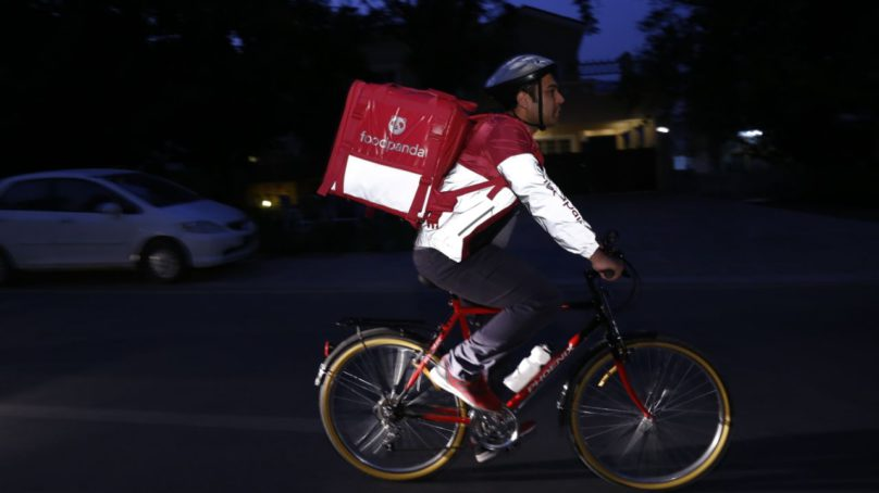 Pedalling for a greener Pakistan – the first food delivery on bicycle
