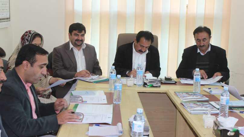 KADO holds board meeting in Hunza