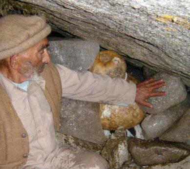 Art of glacier growing in Gilgit-Baltistan