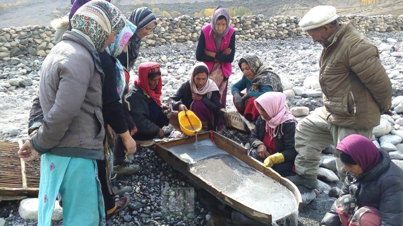 Breaking taboos: Shimshali women to mine Gold
