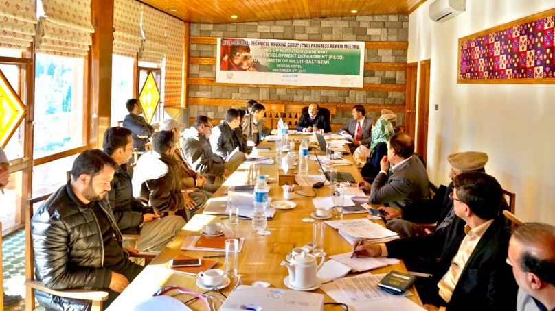 Funding will be prioritized for nutrition sensitive projects in Gilgit-Baltistan