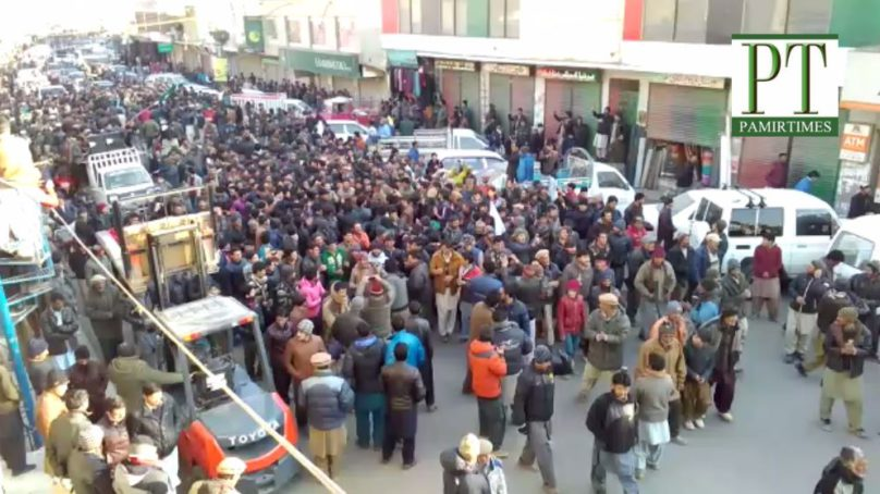 Thousands in Skardu celebrate 'victory of Anti-Tax Movement'