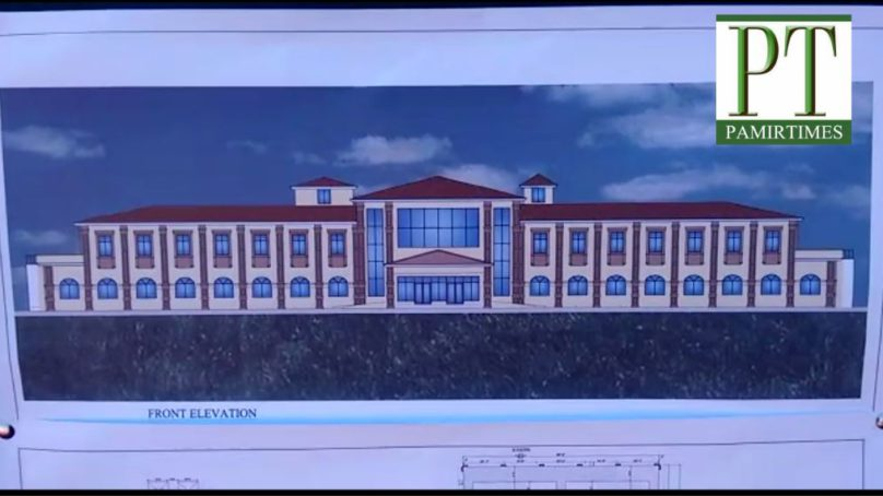 Work on Gilgit Institute of Nuclear Medicine, Oncology and Radiotherapy (GINOR) started