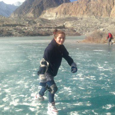 Ice Skating, Hockey: Emerging winter sports in Hunza